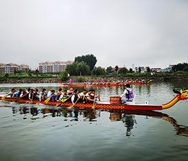 趣味运动会《水上龙舟》